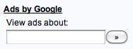 Google Adsense - View ads about